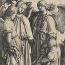 Lucas van Leyden: Abraham en de drie engelen