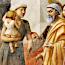 Masaccio: De dood van Ananias