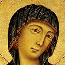 Cimabue: Madonna in Maestà (Trinità)