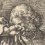Lucas van Leyden: Adam en Eva rouwen om de dood van Abel