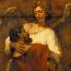 Rembrandt Harmensz. van Rijn: Jakob worstelend met de engel
