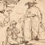 Ferdinand Bol: De opgestane Heer verschijnt aan Maria Magdalena (tekening)