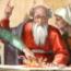 Michelangelo Buonarroti: Het offer van Noach