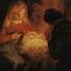 Rembrandt Harmensz. van Rijn: De aanbidding der herders (1646 [2])