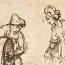 Rembrandt Harmensz. van Rijn: Boaz geeft Ruth zes maten gerst