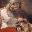 Rembrandt Harmensz. van Rijn: Jakob zegent de zonen van Jozef
