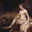 Rembrandt Harmensz. van Rijn: De badende Bathseba (1654)