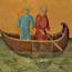 Duccio di Buoninsegna: De roeping van Petrus en Andreas (Maestà)