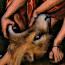 Lucas Cranach de Oude: Simson in gevecht met de leeuw