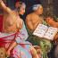 Jacob van Oostsanen: Saul bij de heks van Endor