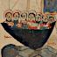 Anonymus: Petrus en Jezus lopen over het water